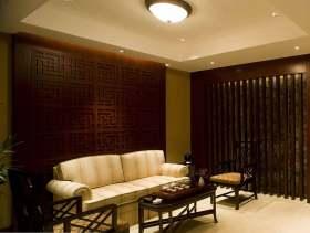 古典中式元素客厅设计案例