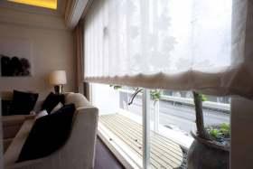 简约风格清新休闲窗帘装饰欣赏