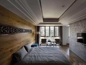 古典中式元素卧室设计案例