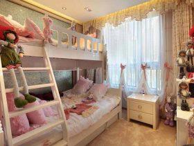 甜蜜温馨欧式儿童房设计装潢