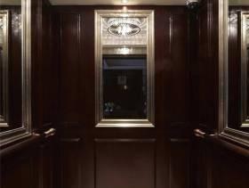奢华大气欧式风格私人别墅电梯装潢