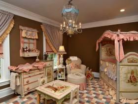 精致古典欧式风格儿童房装修效果图