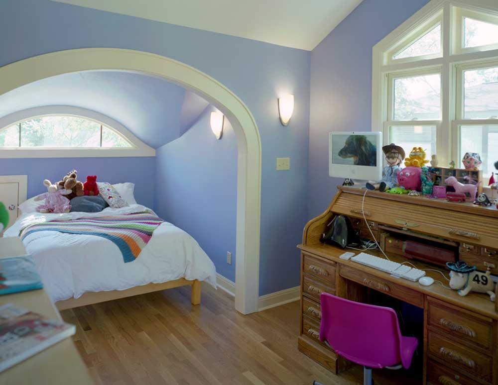 精致欧式风格儿童房装修实例图片
