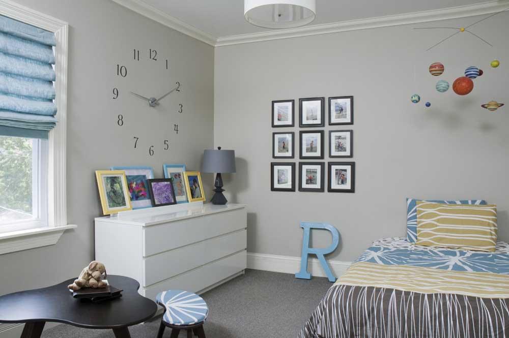 创意布置简约风格卧室装潢设计-兔狗装修效果图