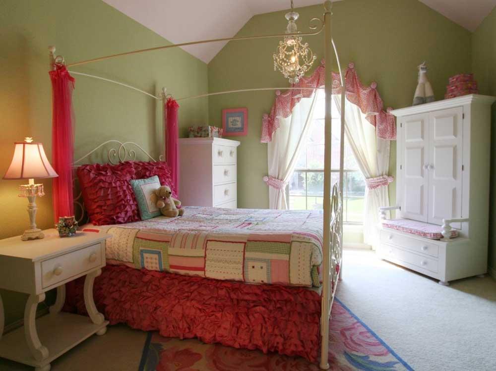 甜美可爱欧式儿童房装修效果