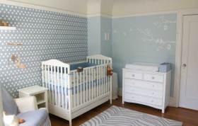 简欧元素儿童房清新设计