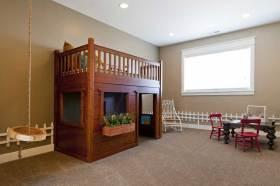自然田园风格儿童房布置装修