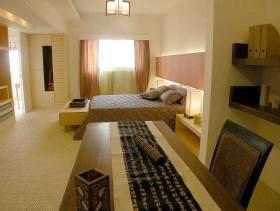 低调内敛中式风格卧室装修案例
