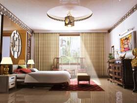 2016古典大气中式风格卧室装修布置