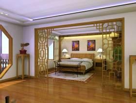 典雅中式风格卧室装修图片