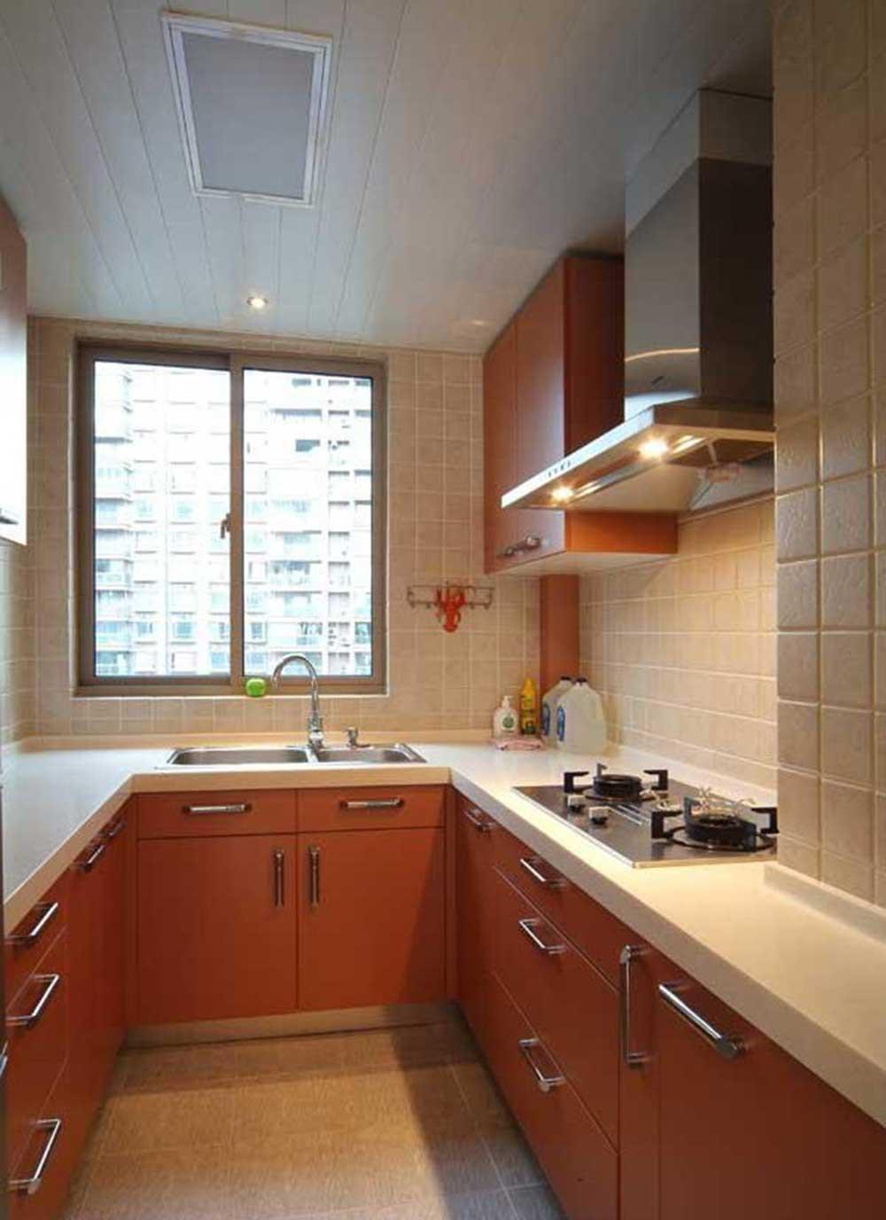 美式设计厨房装修实例