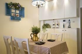 清新雅致地中海风格餐厅设计装潢