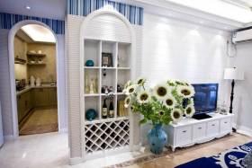 精致地中海风格收纳柜精美装潢