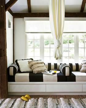 休闲美式飘窗创意装饰