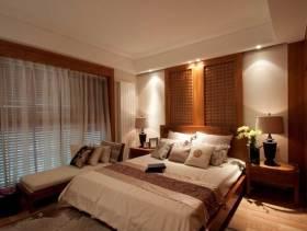 质朴沉稳中式风格卧室设计图片