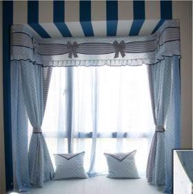 清新俏皮地中海风格飘窗设计