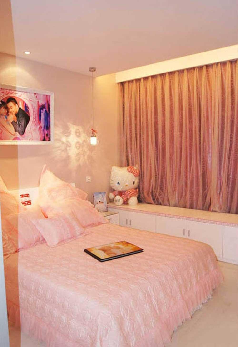 温馨甜美简约风格卧室装修实例精选