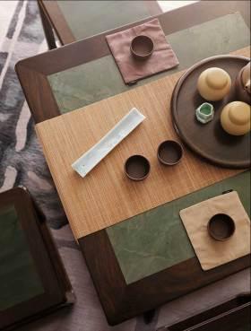 中式新古典茶几装饰物设计