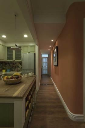 粉色浪漫欧式厨房设计欣赏