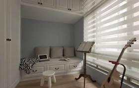 清新雅致宜家风格琴房设计图