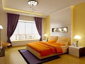 现代摩登卧室设计美图