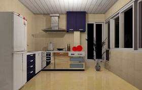 摩登个性简约风格厨房装修