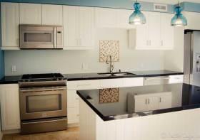 清新雅致简约风格厨房唯美设计