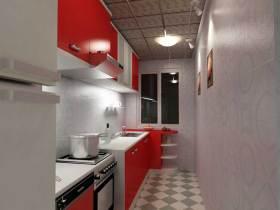 摩登大气简约风格厨房装修布置
