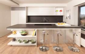 现代简约风格厨房吧台设计