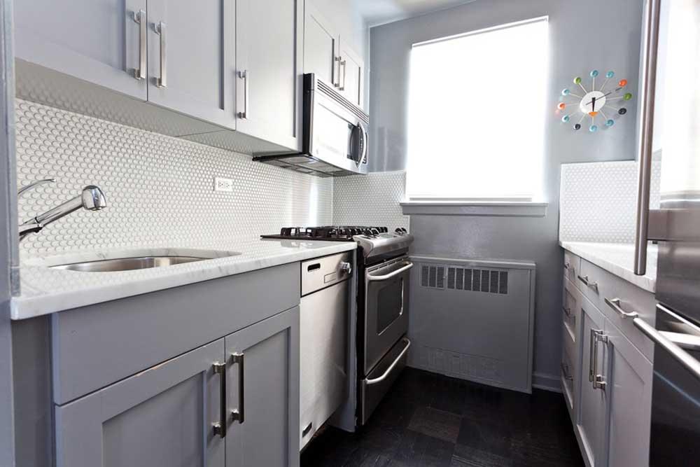 现代时尚厨房装修效果图片欣赏