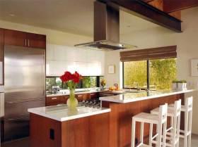 现代风格厨房吧台设计