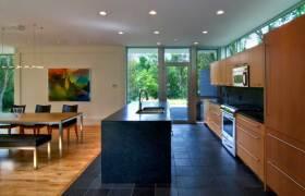 现代时尚别墅厨房装修案例