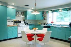 现代简约时尚厨房装修效果图