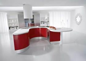 现代时尚大气厨房装修效果展示