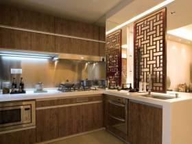 中式雅致时尚厨房设计图片