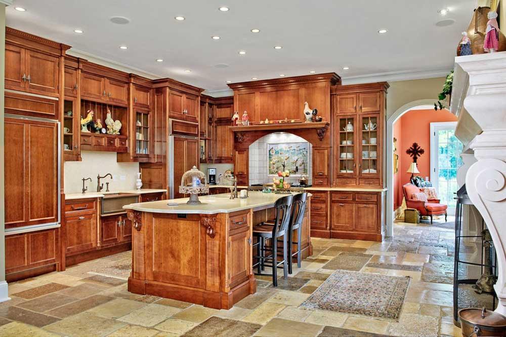 美式厨房装修设计图图片