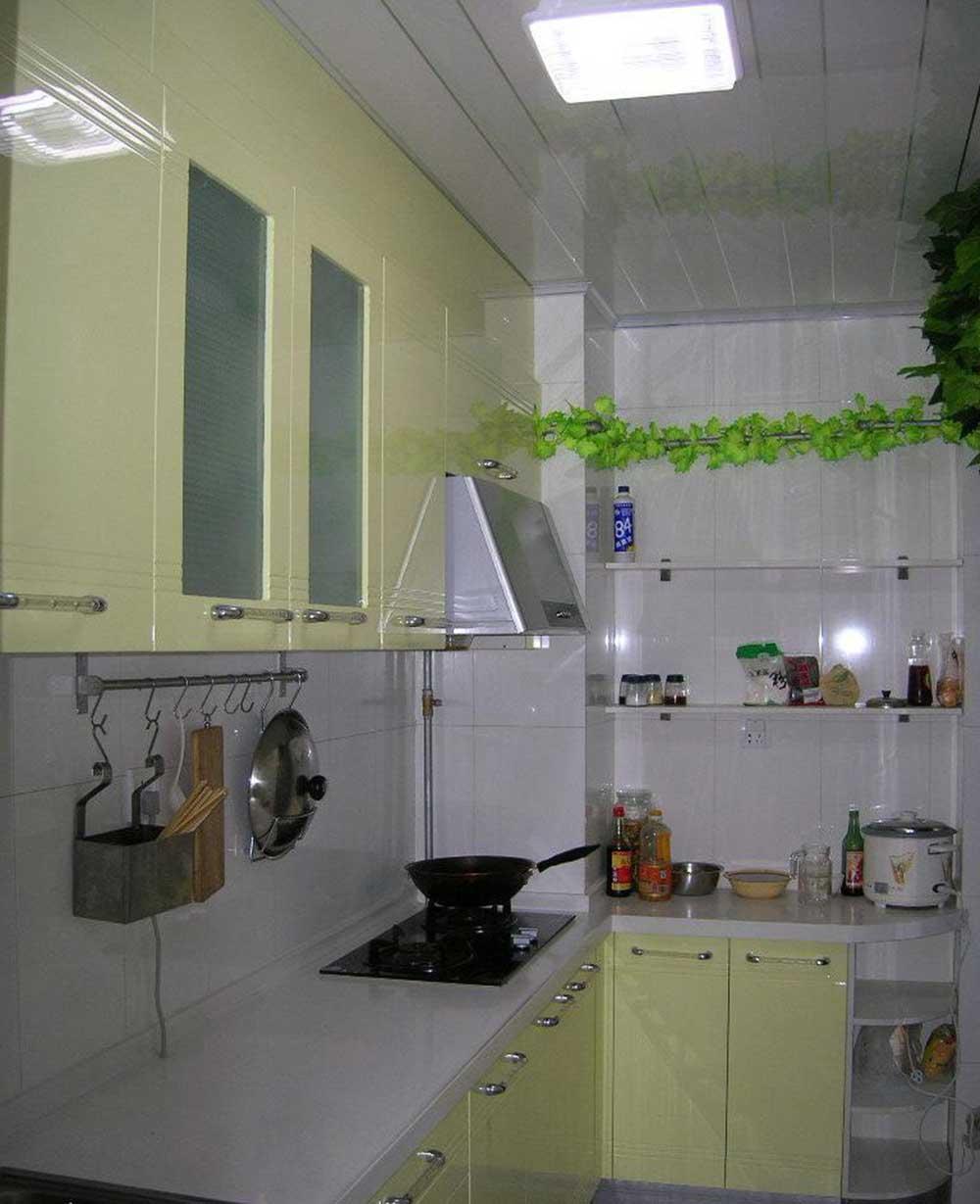 现代厨房装修设计图