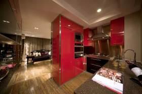 时尚摩登现代风格厨房布置欣赏