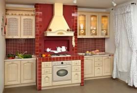 古典美式风格厨房精致设计
