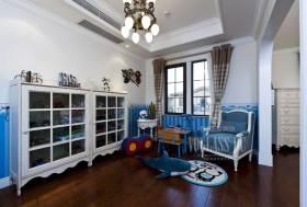 2016典雅地中海元素儿童房局部装饰布置
