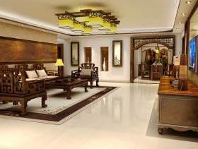 高贵大气中式风格客厅装潢欣赏