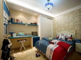 清爽地中海式儿童房设计装修欣赏