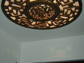 精致古典中式吊顶装饰设计