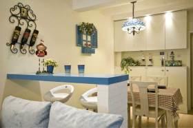 精致可爱地中海风格吧台设计