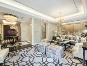文艺雅致中式风格客厅装潢