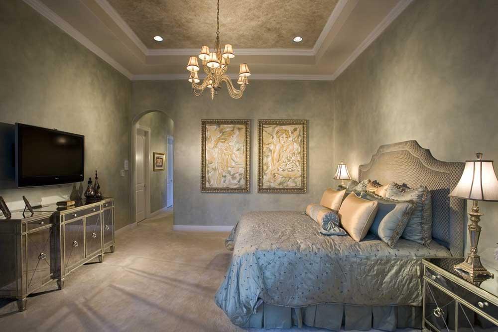 2016摩登美式卧室装修效果图