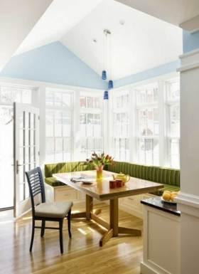 简洁温馨现代风格餐厅设计
