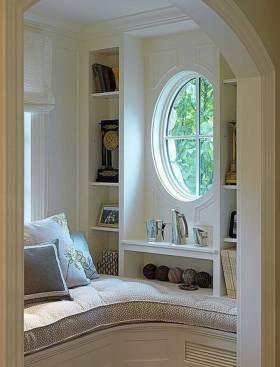 雅致清新新古典飘窗设计美图