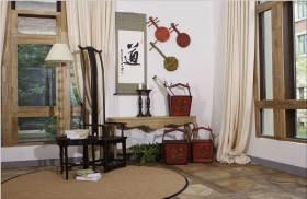 中式传统新古典休闲区布置