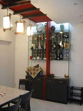 中式新古典风格收纳区域设计展示